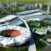 杭州奥体中心三维动画